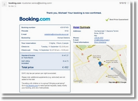 Booking a Hotel in Rome Last Minute is easy