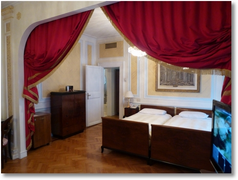 Double Hotel Room at Quirinale in Rome