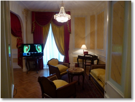 Hotel Quirinale in Central Rome First Floor Room