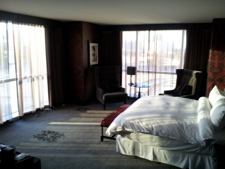 Hard Rock Hotel Casion Las Vegas Corner Room Paradise Towers